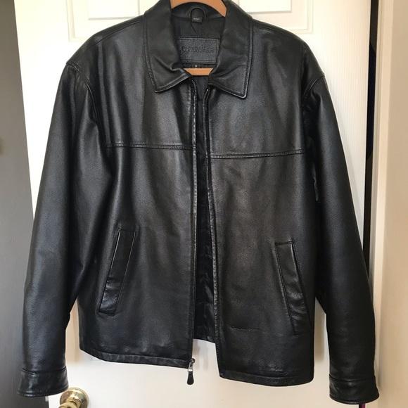 f316a14f4 St. John's Bay Black Leather Jacket